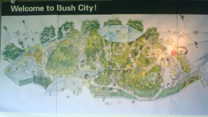 ブッシュ・シティ案内図