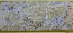 ダウトフル・サウンドの地図