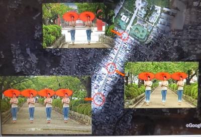 鎌倉八幡宮の段葛は「奥行き錯視」を利用