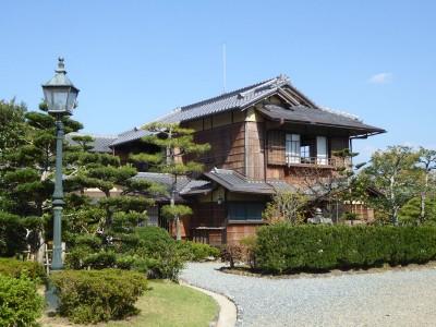 明治村に移築された西園寺公望の「坐漁荘」