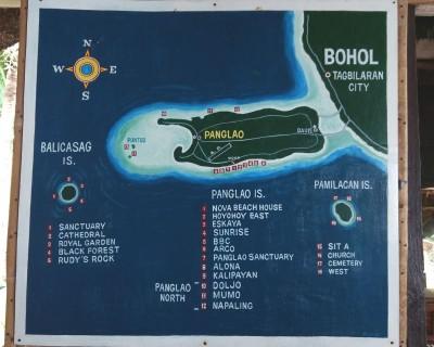 パングラオ島周辺のダイビングスポット