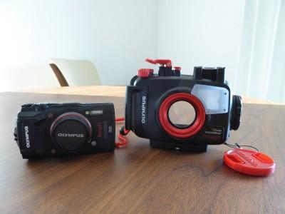 初めての水中カメラOlympusTG-5