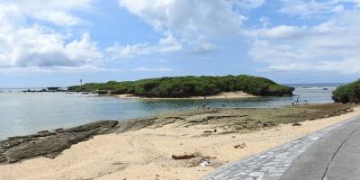 美ら海水族館からも近い備瀬ビーチ