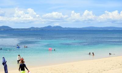 砂浜が600m続く大迫ビーチ